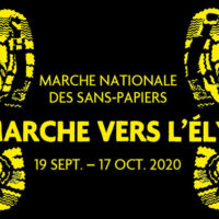 on marche vers l'elysee