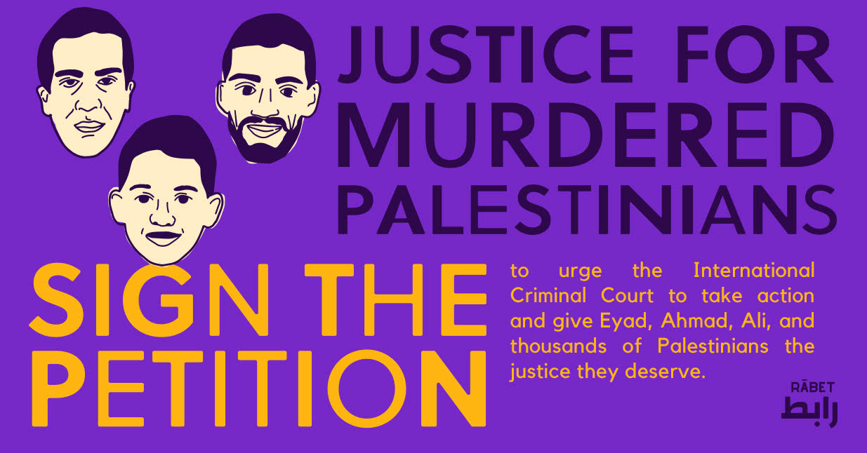 justice for murdered palestinians