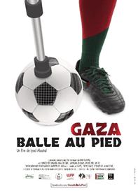 Affiche Gaza, balle au pied