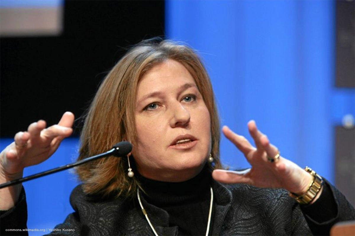 Former Minister of Foreign Affairs of Israel, Tzipi Livni